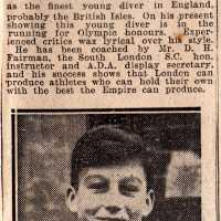 Famous Schoolboy Diver