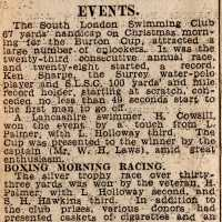 Christmas Day Swim 1930