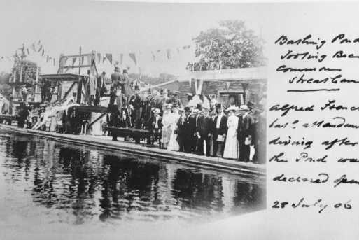 Opening of Lido 28 July 1906