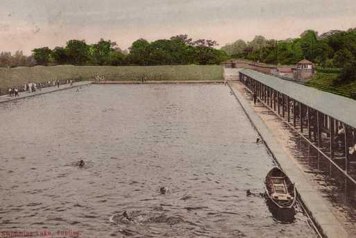 The Bathing Lake c.1906